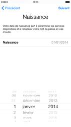 Apple iPhone 6 iOS 8 - Premiers pas - Créer un compte - Étape 14