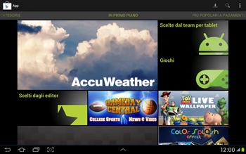 Samsung Galaxy Tab 2 10.1 - Applicazioni - Installazione delle applicazioni - Fase 4