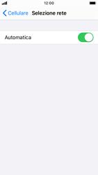 Apple iPhone SE - iOS 13 - Rete - Selezione manuale della rete - Fase 5