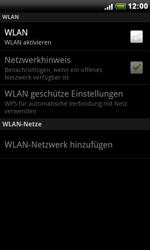 HTC S510e Desire S - WLAN - Manuelle Konfiguration - Schritt 6
