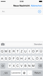 Apple iPhone 5c - MMS - Erstellen und senden - Schritt 6