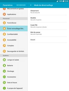 Samsung Galaxy Tab A - Sécuriser votre mobile - Activer le code de verrouillage - Étape 6