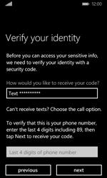 Microsoft Lumia 435 - Applications - Create an account - Step 25