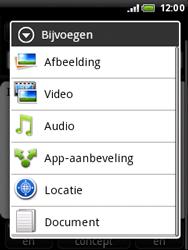 HTC A3333 Wildfire - E-mail - E-mails verzenden - Stap 10