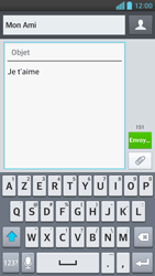 LG Optimus F6 - Contact, Appels, SMS/MMS - Envoyer un MMS - Étape 11