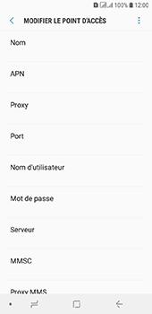Samsung Galaxy A6 - Internet - configuration manuelle - Étape 12