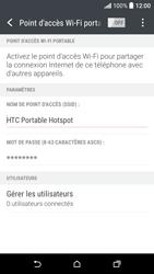 HTC Desire 530 - Internet et connexion - Partager votre connexion en Wi-Fi - Étape 15