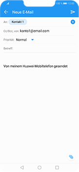 Huawei Honor Play - E-Mail - E-Mail versenden - 8 / 18