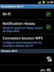 Samsung Galaxy Pocket - WiFi - Configuration du WiFi - Étape 7