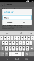 Huawei Ascend P6 - Internet et roaming de données - Configuration manuelle - Étape 22
