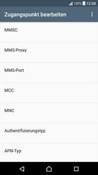 Sony F3211 Xperia XA Ultra - MMS - Manuelle Konfiguration - Schritt 11