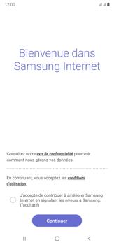 Samsung Galaxy Note20 Ultra 5G - Internet et connexion - Naviguer sur internet - Étape 5