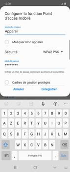 Samsung Galaxy Z flip - WiFi - Comment activer un point d'accès WiFi - Étape 9