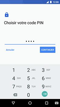 Motorola Moto E4 Plus - Sécuriser votre mobile - Activer le code de verrouillage - Étape 8