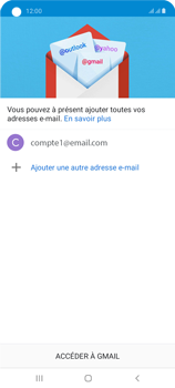 Samsung Galaxy A21s - E-mails - Ajouter ou modifier un compte e-mail - Étape 22