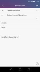 Huawei Honor 5X - E-mail - Envoi d