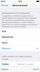 Apple iPhone 5c - iOS 8 - Applicazioni - Configurazione del negozio applicazioni - Fase 19