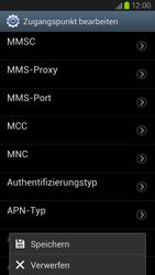 Samsung Galaxy S III LTE - MMS - Manuelle Konfiguration - Schritt 15