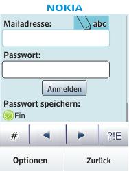 Nokia Asha 300 - E-Mail - Konto einrichten - Schritt 6
