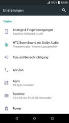 HTC One M9 - Android Nougat - Anrufe - Rufumleitungen setzen und löschen - Schritt 4