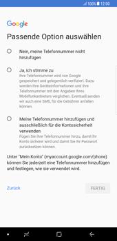 Samsung Galaxy Note 8 - Apps - Einrichten des App Stores - Schritt 13