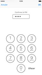 Apple iPhone 6s - Sécuriser votre mobile - Personnaliser le code PIN de votre carte SIM - Étape 11