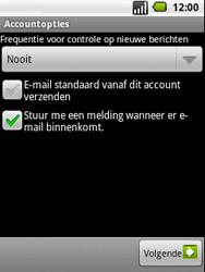LG P350 Optimus Me - E-mail - handmatig instellen - Stap 11