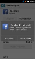 Alcatel One Touch Pop C3 - Apps - Eine App deinstallieren - Schritt 7
