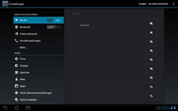 Asus Padfone - WLAN - Manuelle Konfiguration - Schritt 8