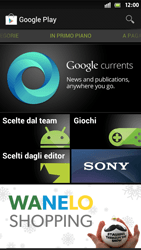 Sony Xperia S - Applicazioni - Configurazione del negozio applicazioni - Fase 16
