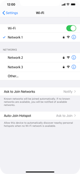 Apple iPhone 11 Pro Max - Wi-Fi - Connect to a Wi-Fi network - Step 7