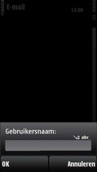 Nokia X6-00 - e-mail - handmatig instellen - stap 12