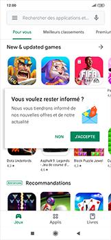 Xiaomi RedMi Note 7 - Applications - Comment vérifier les mises à jour des applications - Étape 3