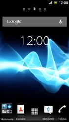 Sony Xperia J - Software - Installieren von Software zur PC-Synchronisierung - Schritt 1