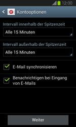 Samsung Galaxy Express - E-Mail - Manuelle Konfiguration - Schritt 16
