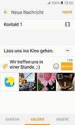 Samsung Galaxy Xcover 3 VE - MMS - Erstellen und senden - 0 / 0