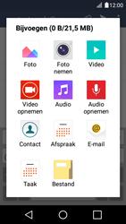 LG LG K4 - e-mail - hoe te versturen - stap 11