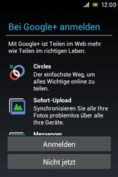 Sony Xperia Miro - Apps - Konto anlegen und einrichten - Schritt 10