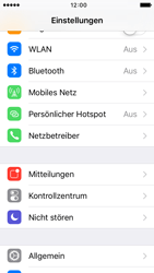 Apple iPhone 5 mit iOS 9 - Netzwerk - Netzwerkeinstellungen ändern - Schritt 3