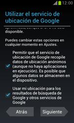 Samsung S7560 Galaxy Trend - Primeros pasos - Activar el equipo - Paso 11