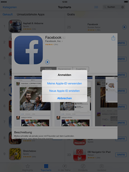 Apple iPad mini iOS 7 - Apps - Einrichten des App Stores - Schritt 24