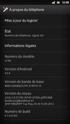 Sony Xperia S - Logiciels - Installation de mises à jour - Étape 6