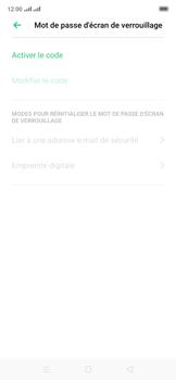 Oppo Reno 2Z - Sécuriser votre mobile - Activer le code de verrouillage - Étape 6
