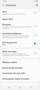 Samsung Galaxy A80 - WiFi - Comment activer un point d'accès WiFi - Étape 5