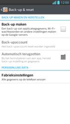 LG P875 Optimus F5 - Toestel reset - terugzetten naar fabrieksinstellingen - Stap 5
