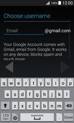 Samsung J100H Galaxy J1 - Applications - Create an account - Step 8