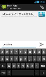 Bouygues Telecom Bs 401 - Contact, Appels, SMS/MMS - Envoyer un SMS - Étape 9