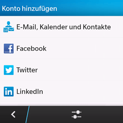 BlackBerry Q10 - E-Mail - Manuelle Konfiguration - Schritt 6