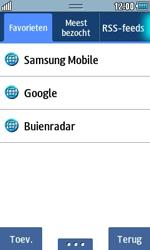 Samsung S5250 Wave 525 - internet - hoe te internetten - stap 9