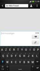 HTC One Mini - MMS - Erstellen und senden - Schritt 9